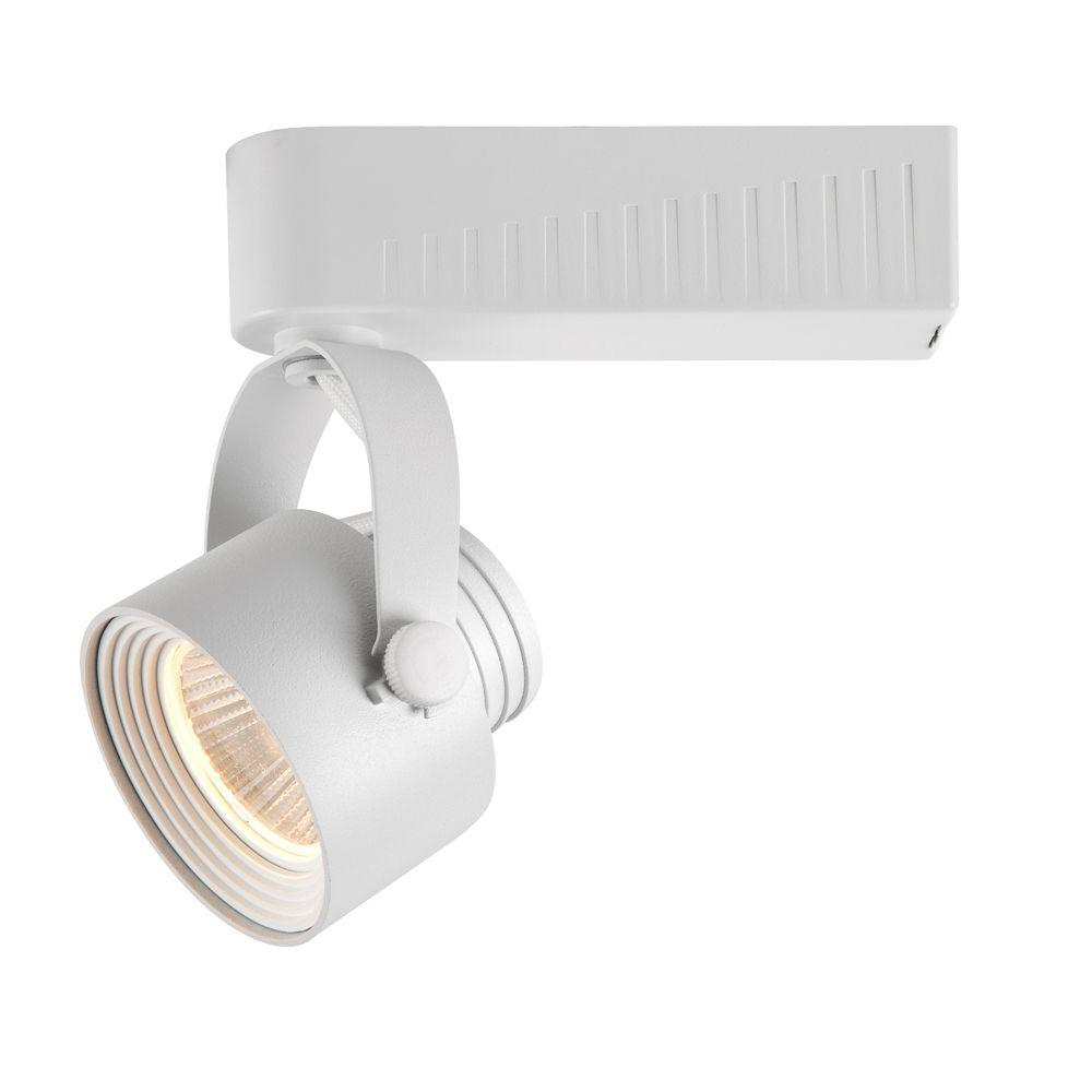 White Dimmable Led Gimbal Track Lighting Fixture