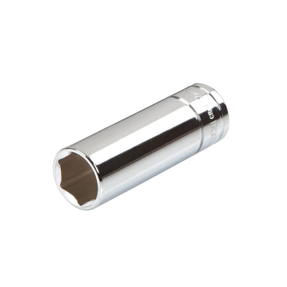 1/4 in. Drive 12 mm 6-Point Deep Socket