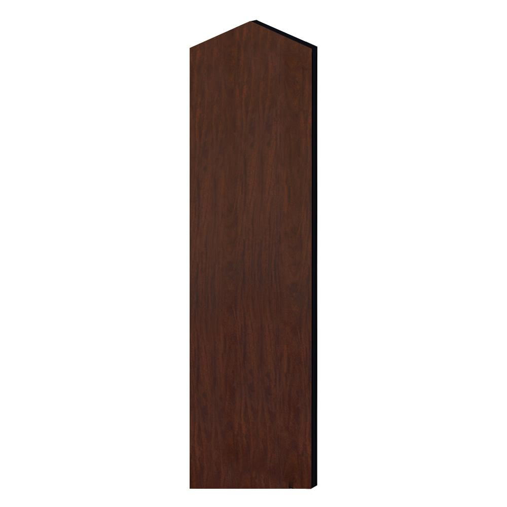 Laminate Double End Side Panel with Sloping Hood for 72 in.