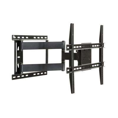 Large Full Motion Articulating Mount for 19 in. to 80 in. Flat Screen TV - Black