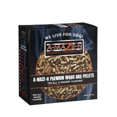 2 lb. BBQ Wood Pellets Oak with Chili Pepper Spices