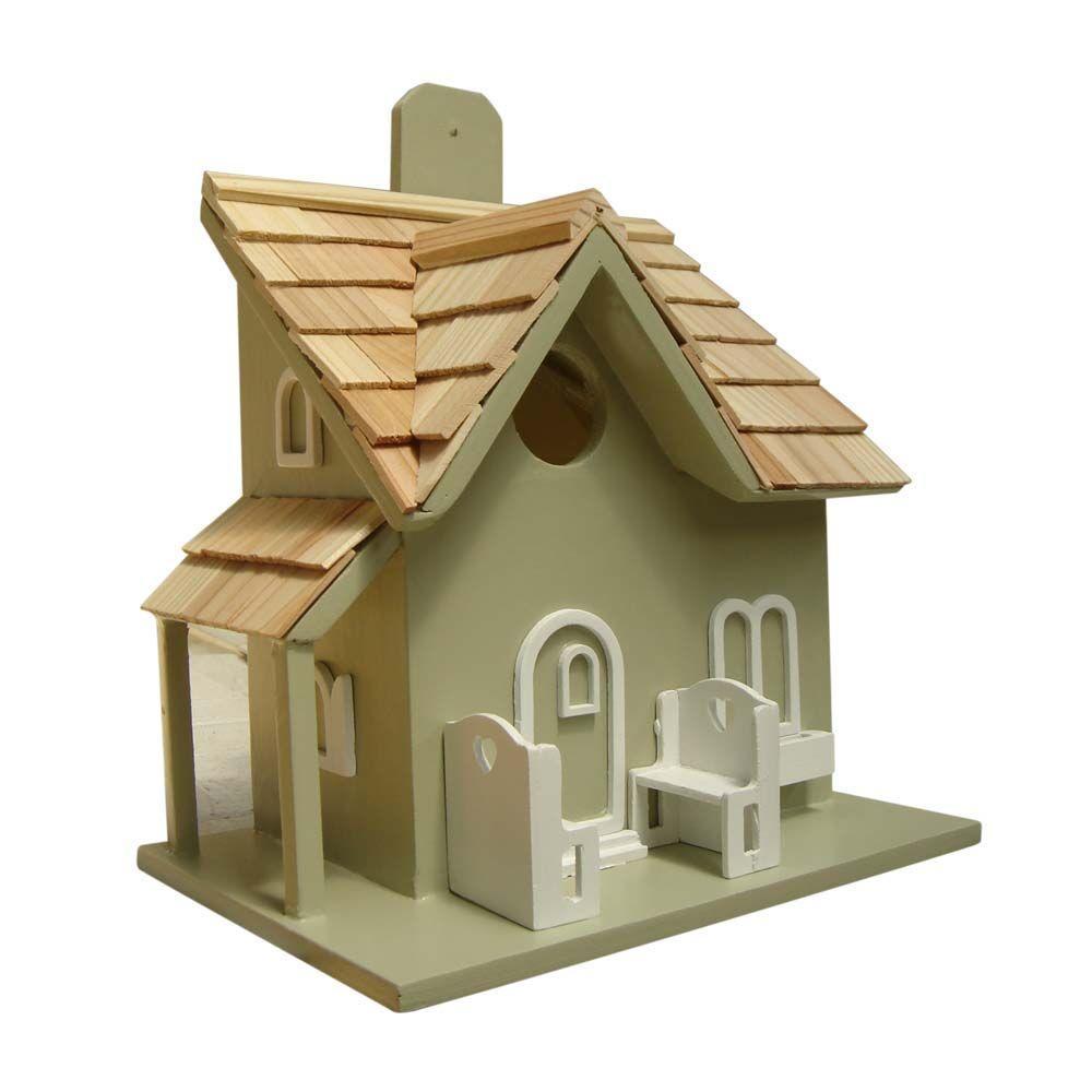 Home Bazaar Little Retreat Birdhouse (Green)