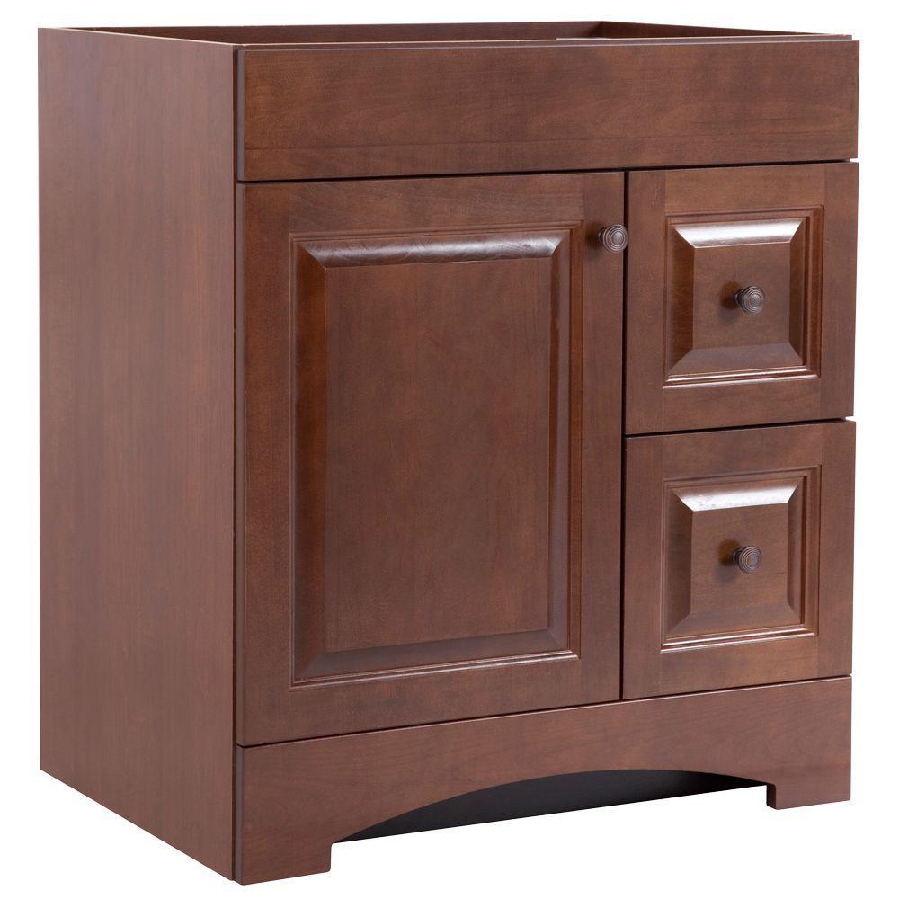 Regency 30 in. W Bath Vanity Cabinet Only in Auburn