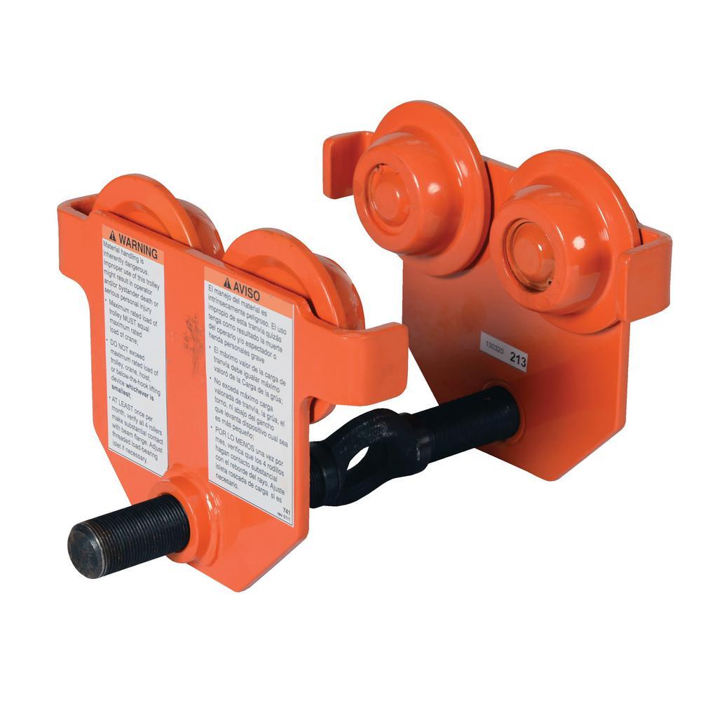 Vestil 1,000 Lbs. Capacity Eye Manual Trolley Push
