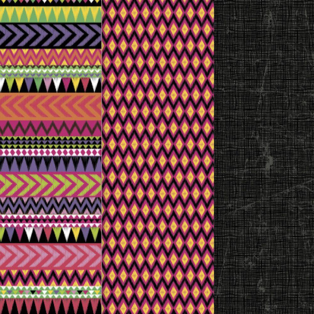 12 in. x 16 in. Decou-Page Paper Tribal (3-Pack)