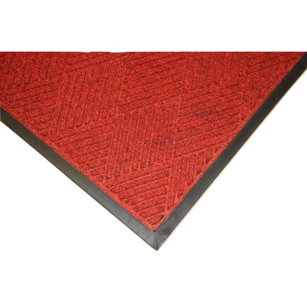Opus 4 ft. x 6 ft. Red Entrance Mat