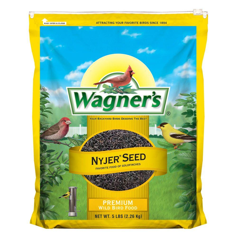 wagner u0027s 5 lb nyjer seed wild bird food 62051 the home depot