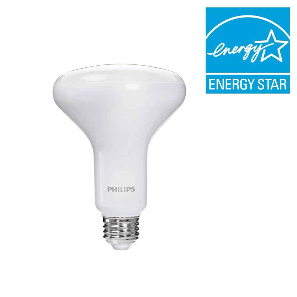 Philips 65-Watt Equivalent BR30 Dimmable LED Daylight-457085 - The ...
