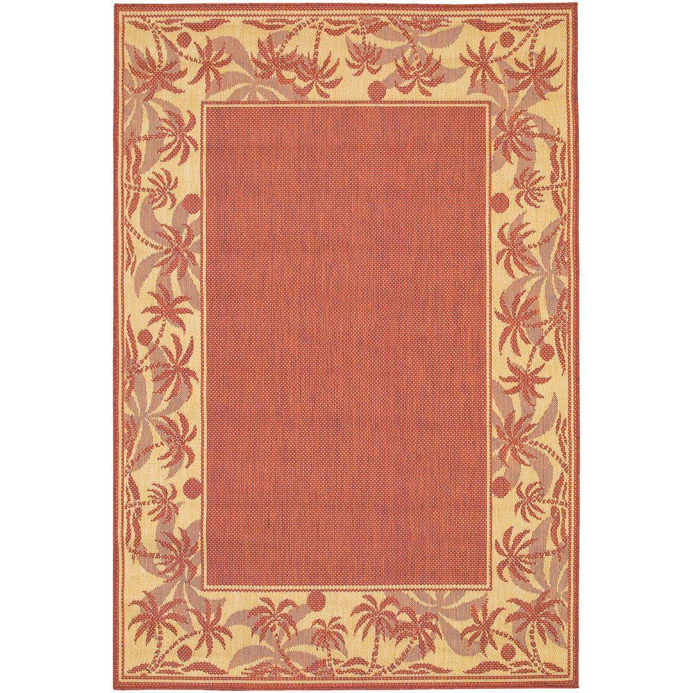 This Review Is From Recife Island Retreat Terracotta Natural 7 Ft 6 In X 10 9 Indoor Outdoor Area Rug