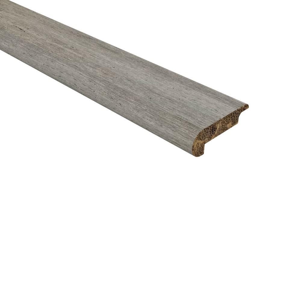 Grey Wood Moulding Trim Hardwood Flooring The Home Depot