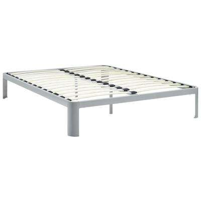 Corinne Gray Queen Bed Frame