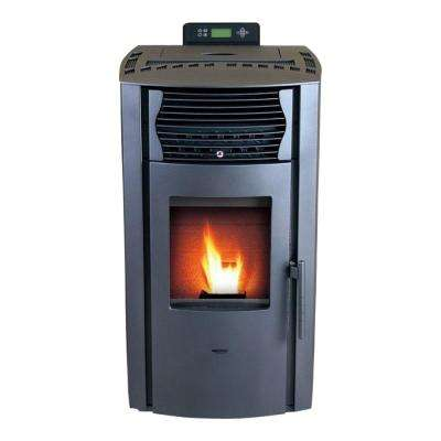 2,200 sq. ft. EPA Certified Pellet Stove with Auto Ignition and 47 lb. Hopper