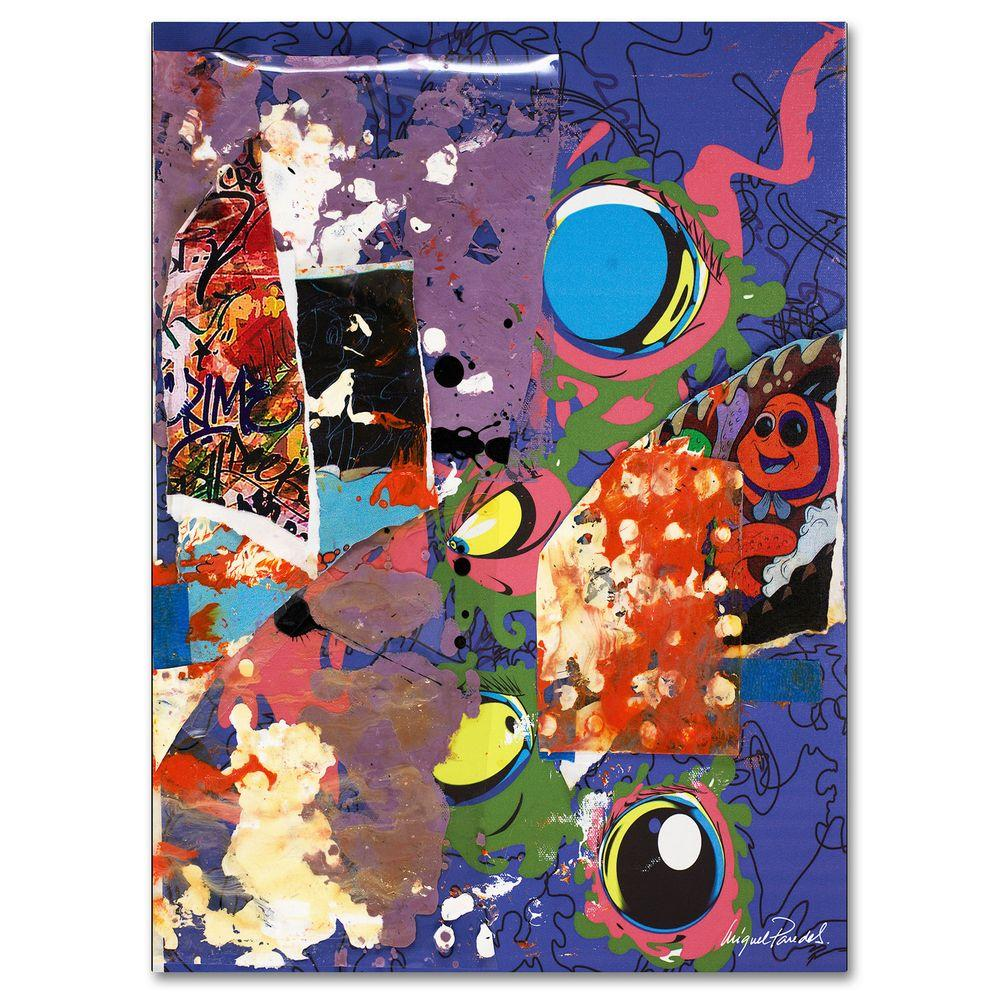 26 in. x 32 in. Urban Collage II Canvas Art