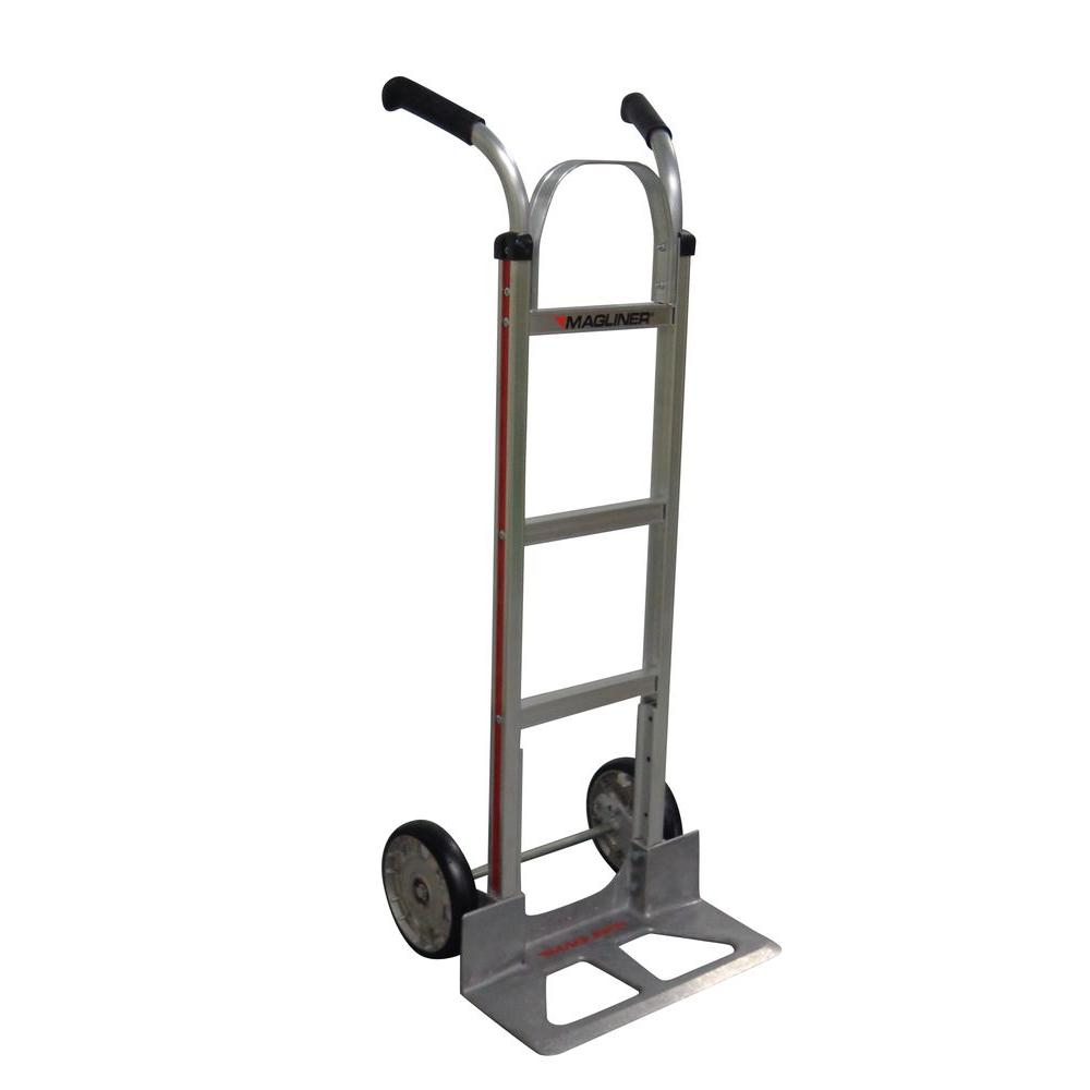 500 lb. Capacity Aluminum Modular Hand Truck with Double Grip Handles
