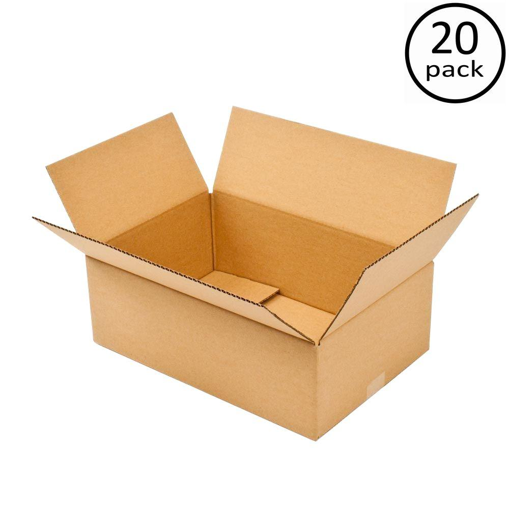 Plain Brown Box 24 in. x 12 in. x 6 in. 20 Moving Box Bundle