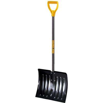 18 in. Steel Snow Shovel