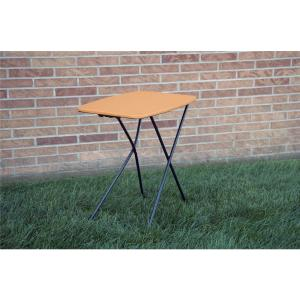 orange adjustable 2pack folding tailgate table - Folding Table And Chairs