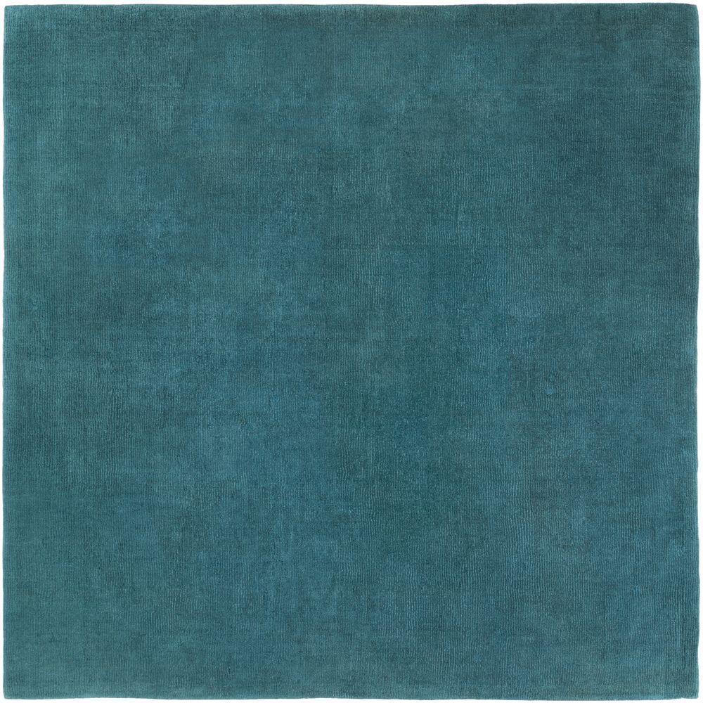 Artistic Weavers Falmouth Teal 8 Ft. X 8 Ft. Square Indoor