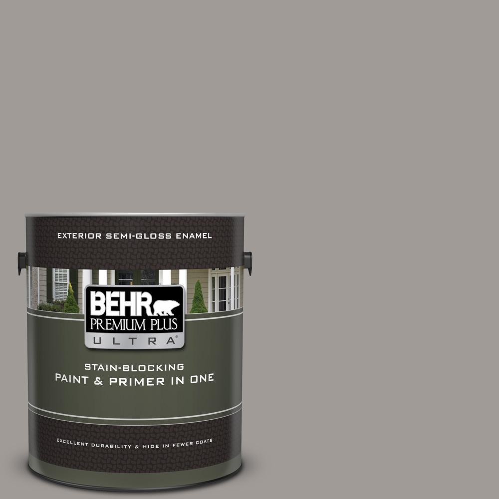 Behr Premium Plus Ultra 1 Gal Ppu18 15 Fashion Gray Semi Gloss