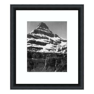 """""""Snow Covered Mountain Glacier National Park, MT - National Parks and Monuments, 1941"""" by Ansel Adams Framed Wall Art"""