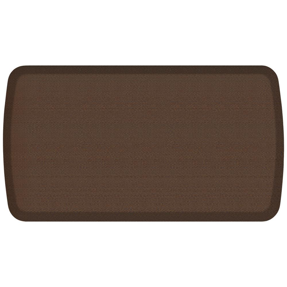 GelPro Elite Rattan Redwood 20 in. x 36 in. Comfort Kitchen Mat