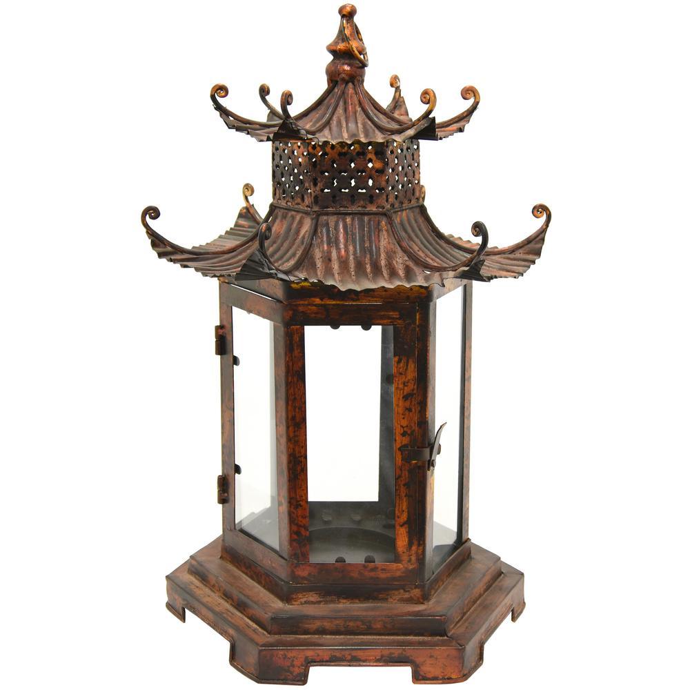 Brown Pagoda Lantern