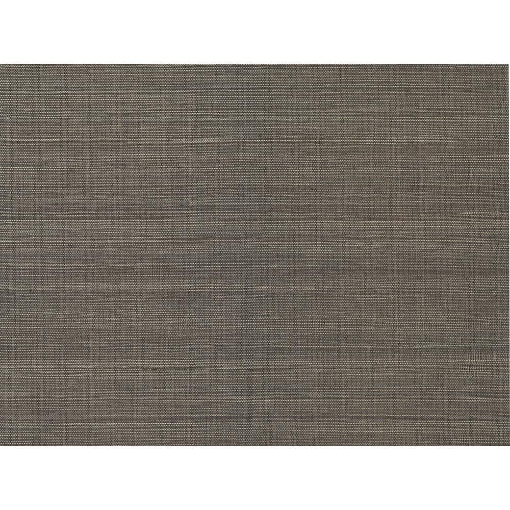 A-Street 72 sq. ft. Xidi Brown Grasscloth Wallpaper 2829-82023