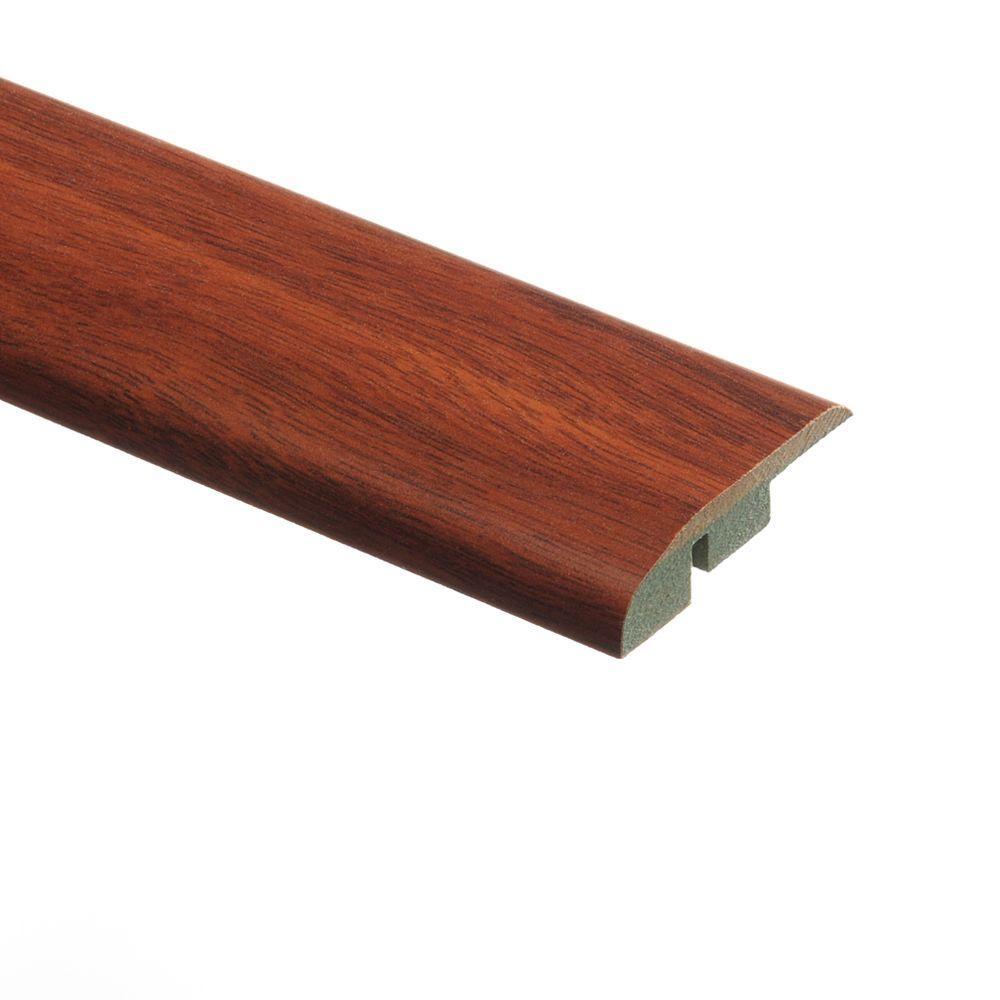 Zamma Claret Jatoba 1/2 in. Thick x 1-3/4 in. Wide x 72 in. Length Laminate Multi-Purpose Reducer Molding