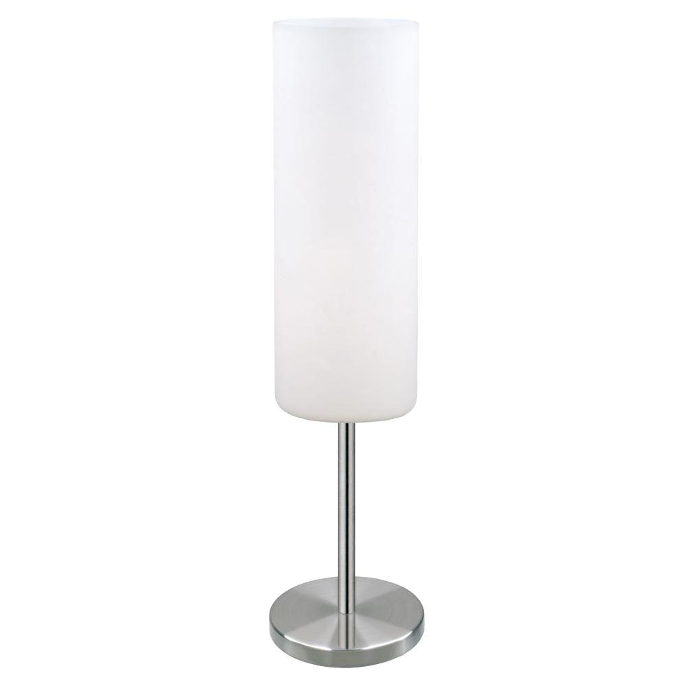 Matte Nickel Table Lamp