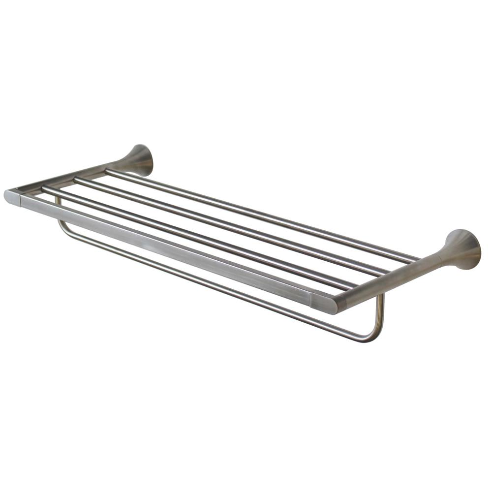 Speakman Lewes 24 in. Towel Rack in Brushed Nickel-SA-2203-BN - The ...