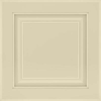 13 in. x 12-7/8 in. Cabinet Door Sample in Olmsted Painted Cashmere