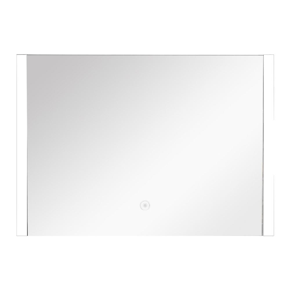 Ethan 31.5 in. x 24.02 in. Single Frameless LED Mirror