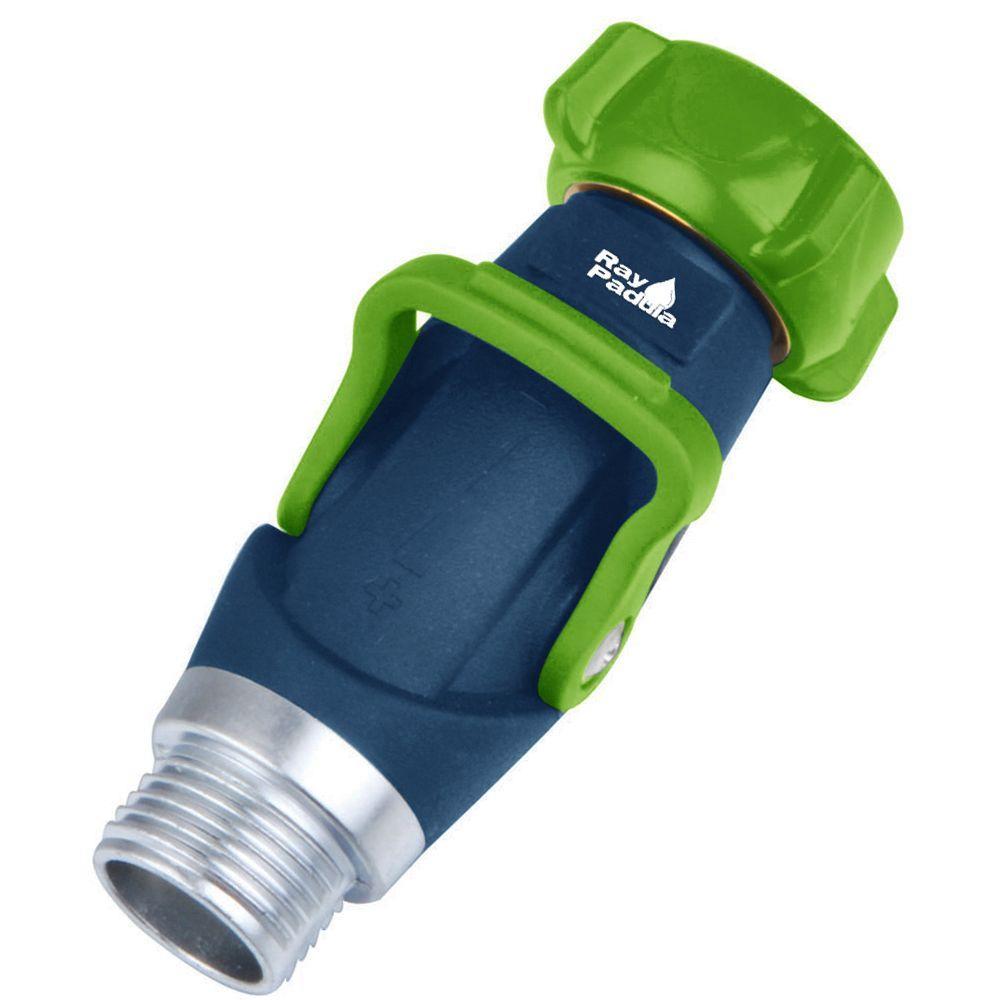 Thumb Control Metal Hose Shut-Off Adapter