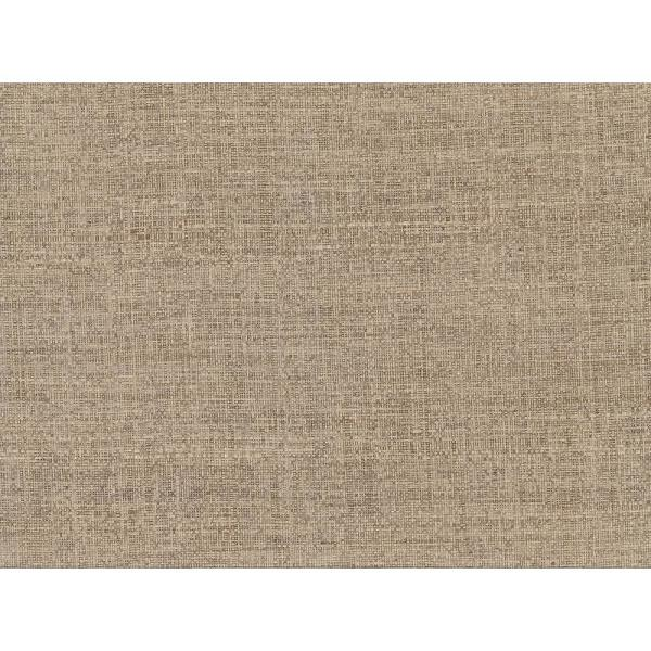 Kenneth James 72 sq. ft. Mindoro Taupe Grass Cloth Wallpaper