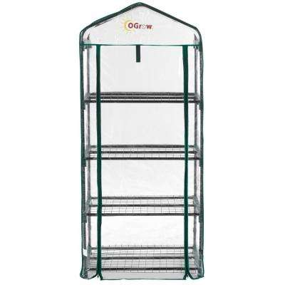 19 in. W x 27 in. D Ultra-Deluxe 4-Tier Portable Bloomhouse