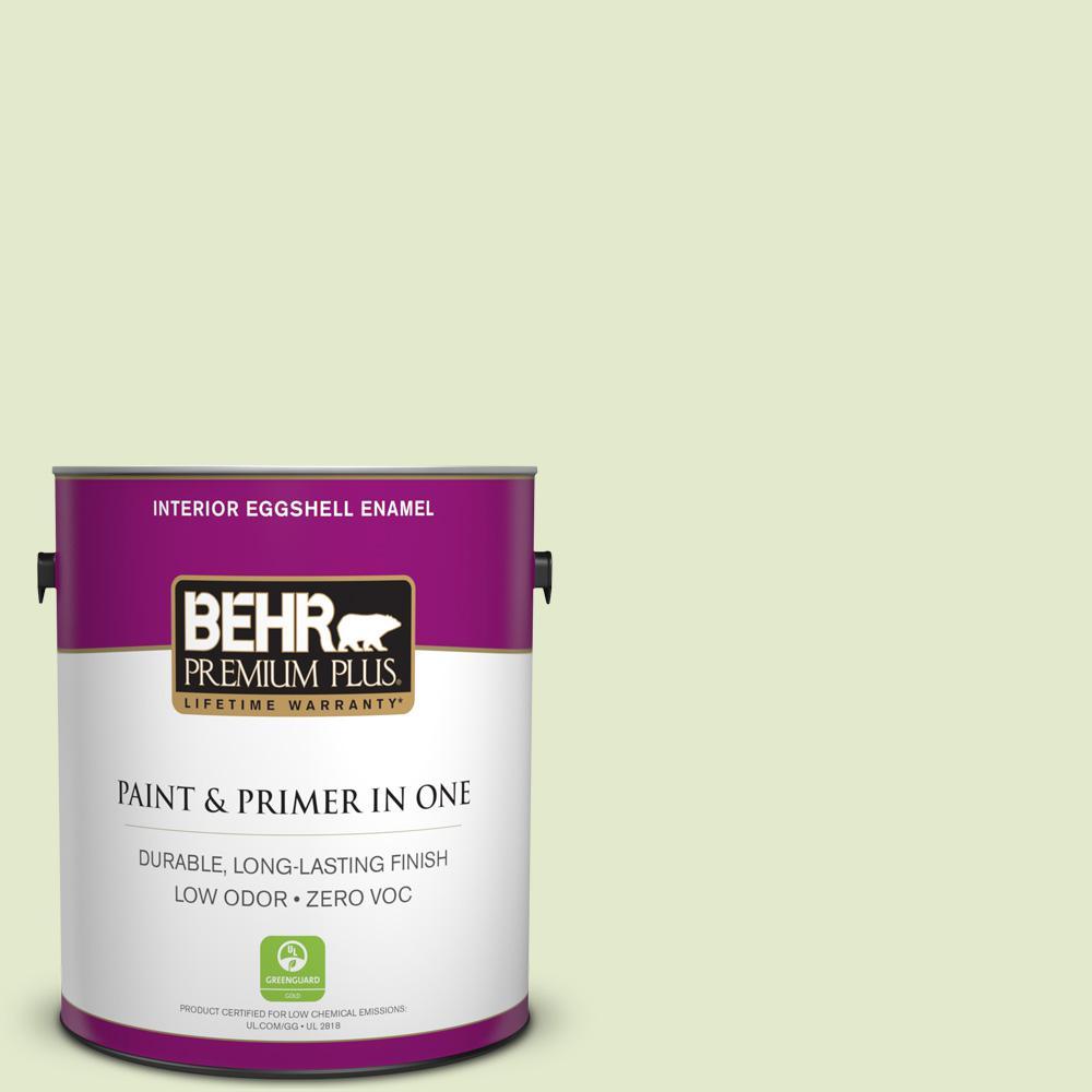 BEHR Premium Plus 1-gal. #P370-2 Praying Mantis Eggshell Enamel Interior Paint