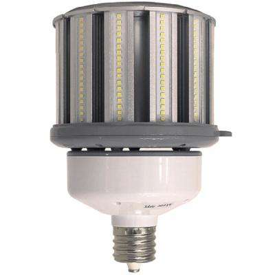 400-Watt Equivalent 100-Watt Corn Cob ED37 LED High Lumen High Bay Bypass Light Bulb Mog 120-277V Daylight 5000K 84109
