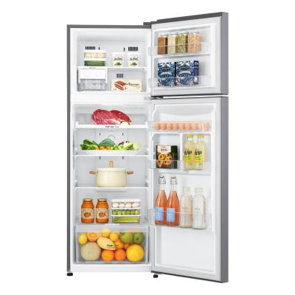 11.1 cu. ft. Top Freezer Refrigerator in Platinum Silver, Counter Depth