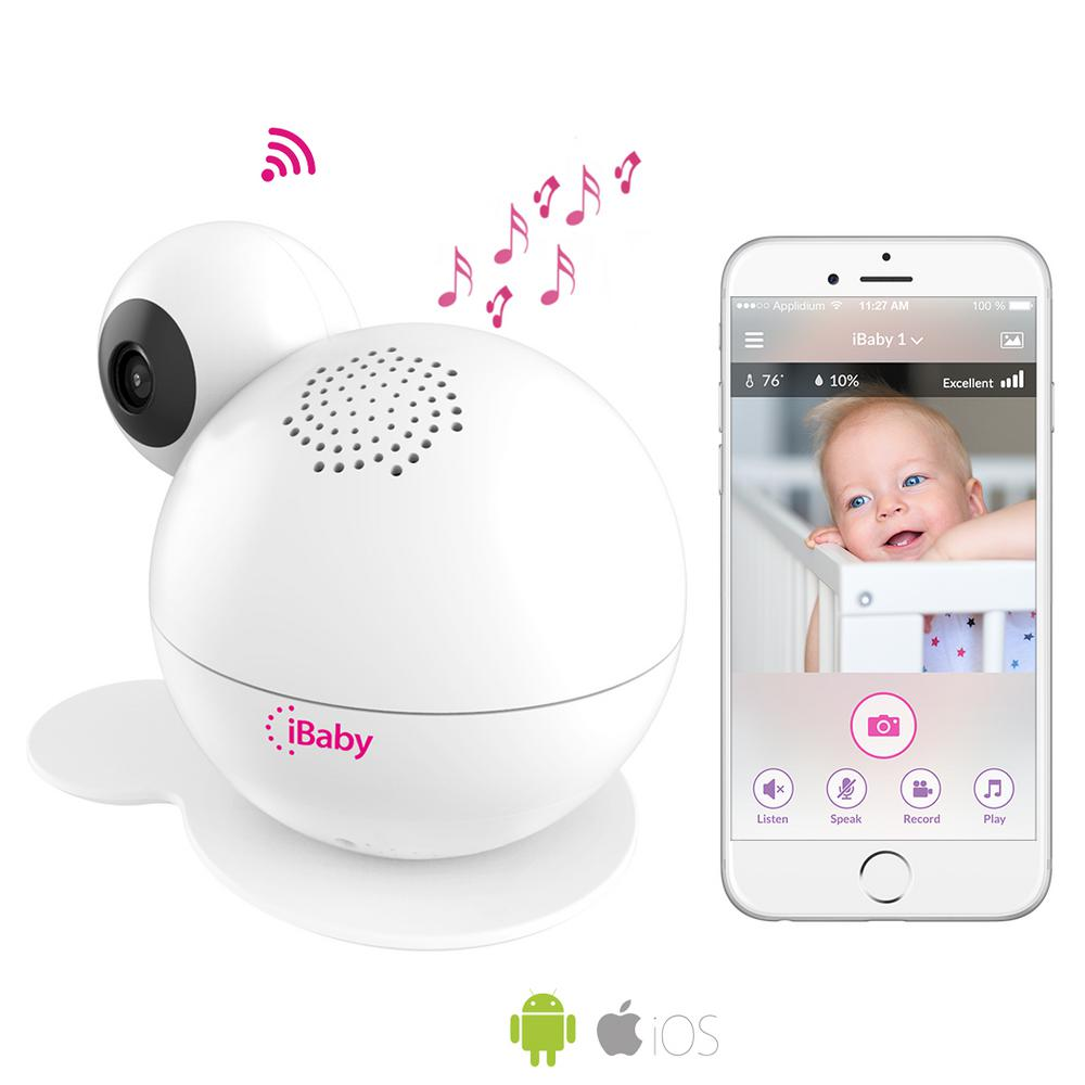 Smart Wi-Fi Enabled Total Baby Care System Full HD 1080p Baby Monitor with Wi-Fi Speakers iBaby Care M7 Lite is a smart baby care monitoring system that crosses the boundaries of conventional video and audio monitors. Fully equipped, the iBaby Care M7 Lite promotes early childhood education and a better night's sleep with the newly integrated wireless speakers and SPA sounds. SPA sounds will help soothe your baby to a better night's sleep with sounds that include white noises, thunder, ocean, rain, summer night sounds and bedtime stories. The iBaby Care M7 Lite will automatically adjust playback levels to minimize and reduce sleeping disruptions. The iBaby Care M7 is also a fully loaded baby monitoring system that includes full HD 1080p video, two-way audio speakers, sound and motions alerts, diaper and feeding alerts and air quality notifications. Enjoy the innovative new features that were specifically engineered with your family's best interest at heart.