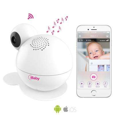 Smart Wi-Fi Enabled Total Baby Care System Full HD 1080p Baby Monitor with Wi-Fi Speakers
