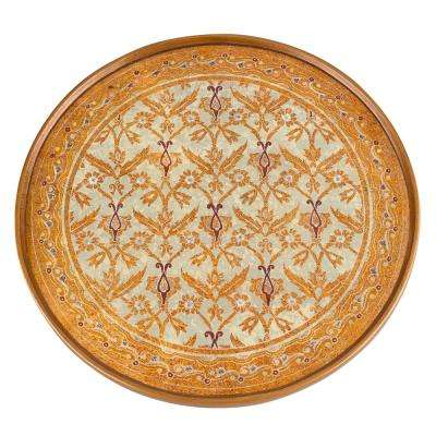 Antigua Sand 13 in. Multi Round Tray or Charger