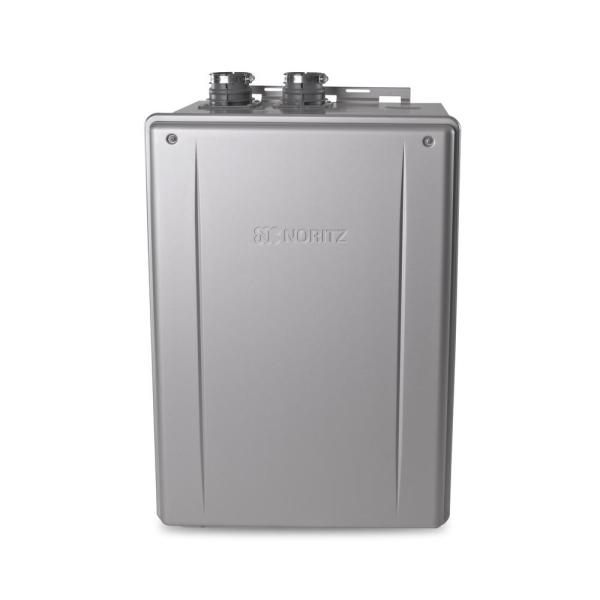 9.2 GPM Residential Indoor/Outdoor Built-In Recirculation Pump, Natural Gas Tankless Water Heater Max 165,000 BTUH