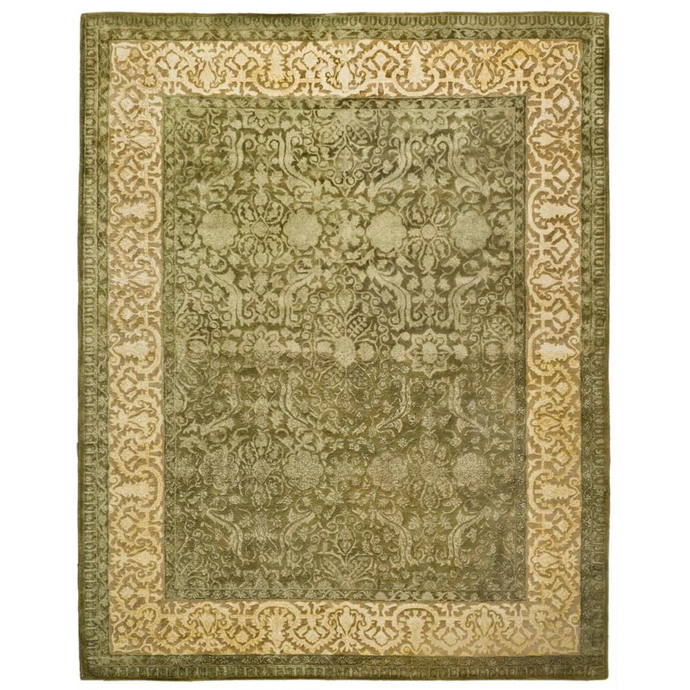 Safavieh Silk Road Spruce/Ivory 7 ft. 6 in. x 9 ft. 6 in. Area Rug