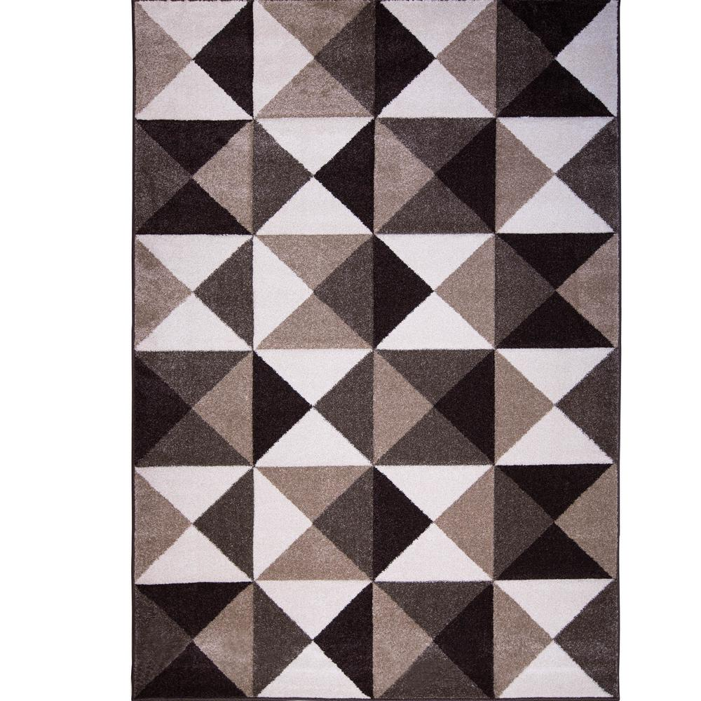 Home Dynamix Fiji Cream 5 ft. 2 in. x 7 ft. 2 in. Indoor Area Rug