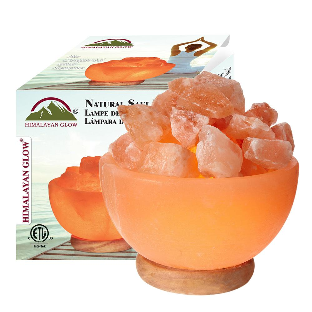 Wbm Himalayan Novelty Lamps 64 Ase In Ionic Crystal Hand Carved Salt Apte Nou Lbs Bowl