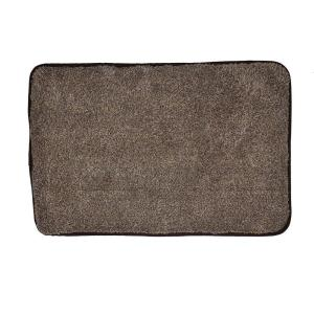 Trek N' Clean Brown/Tan 23.5 inch x 36 inch Door Mat by