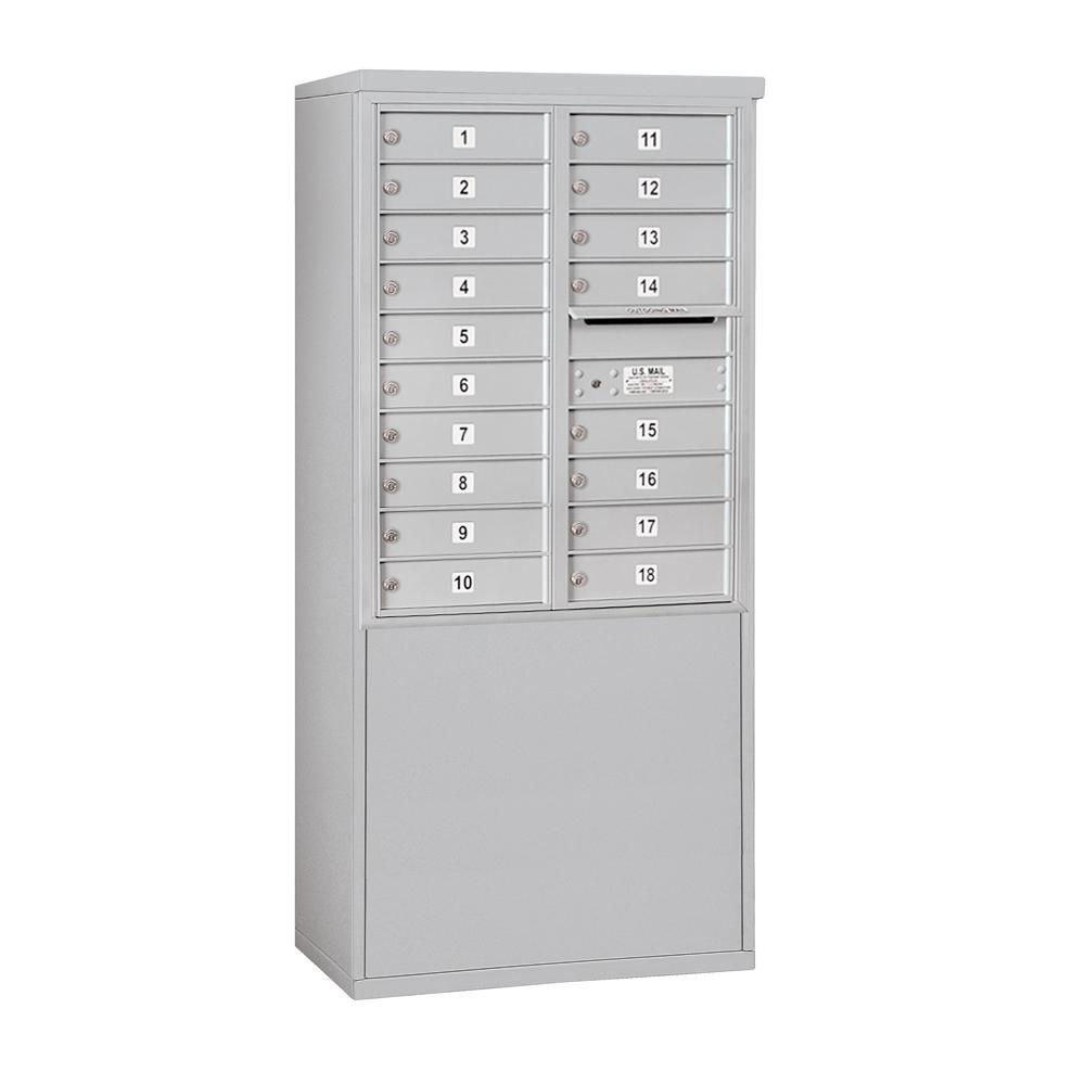 3900 Horizontal Series 18-Compartment Free Standing Mailbox