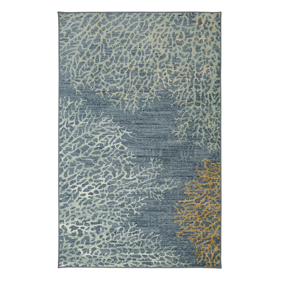 Mohawk Home C Reef Multi 5 Ft X 8 Area Rug 491727 The Depot