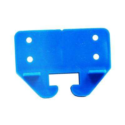 0.75 in. Blue Plastic Drawer Track Guide (2-Pack)