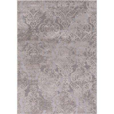 Thema Lancing Ivory 3 ft. x 5 ft. Area Rug